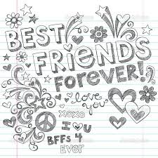 Best Friends Forever Coloring Pages Pictures Friend Printable