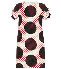 100 Sea Shell Design Valentino Women Virgin Wool And Silk Minidress NeroRosso V