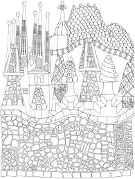 Welcome To Dover PublicationsCreative Haven CityScapes A Coloring Book With Hidden Picture Twist