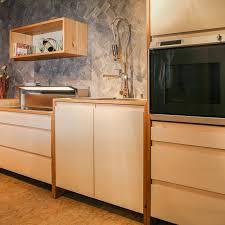 modulküche in eiche und ahorn modern küche münchen