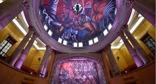 inicia en enero restauración de murales de orozco en el paraninfo