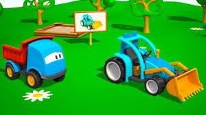 Coloriage Tracteur Tom Avec Fourche