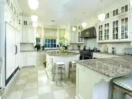 Kitchen Cabinet Granite Top Dark Kitchen Cabinets Wall Color White
