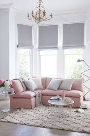 Living Room Corner Seating Ideas by Best 25 Pink Sofa Ideas On Pinterest Blush Grey Copper Living