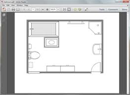 Floor Plan Template Powerpoint by Free Bathroom Plan Templates For Word Powerpoint Pdf