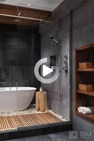 pin auf salle de bains gris