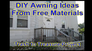 DIY - Front Door Canopy Awning - Metal Roof - Trash To Treasure ... Awning Improvement City Directory Page The Portal To Texas Outdoor Awntech Home Depot Awnings Attached Tutorial Girl Extension Pole For Window Best 25 Alinum Awnings Ideas On Pinterest Window Metal Door Awning Front Homes How Clean Your Chrissmith Manufacturers We Make And Canopies Beautymark 3 Ft Houstonian Standing Seam 24 In H 03 Copper Detail Exterior Doors