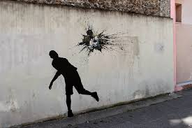 Humorous New Site Specific Paintings On The Streets Of Paris By
