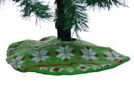 Image Is Loading Mini Miniature Christmas Xmas Holiday Tree Skirt Green