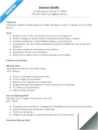 Resume Objective Examples For Hair Stylist Salon Receptionist Example Sample Assistant Makeup Artist Rece
