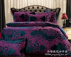Fancy Purple Bed Sets King Size 18 In Boho Duvet Covers With