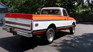 1972 Chevrolet K20 4x4 Custom Camper Edition Pick Up For Sale - YouTube 1972 Chevy K20 4x4 34 Ton C10 C20 Gmc Pickup Fuel Injected The Duke Is A 72 C50 Transformed Into One Bad Work Chevrolet Blazer K5 Is Vintage Truck You Need To Buy Right 4x4 Trucks Chevy Dually C30 Tow Hog Ls1tech Camaro And Febird 3 4 Big Block C10 Classic Cars For Sale Michigan Muscle Old Lifted Ford Matt S Cool Things Pinterest Types Of 1971 Custom 10 Orange 350 Motor Custom Camper Edition Pick Up For Youtube 1970 Cst Stunning Restoration Walk Around Start Scotts Hotrods 631987 Gmc Chassis Sctshotrods