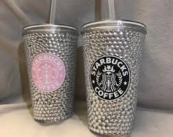 Medium Bling Rhinestone Starbucks Cup