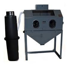 Abrasive Blast Cabinet Vacuum by Cyclone Manufacturing Sandblasters Sand Blast Cabinets Media