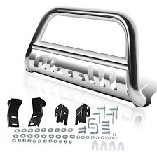 Best Push Bars For Trucks   Amazon.com Tac Bull Bar For 12018 Ford F150 Ecoboost Excluded 1014 Ami 19285ks Swing Step Flat Black Push With Polished Cross Bars Push Bars Dodge Ram Forum Ram Forums Owners Club Truck Westin Automotive Leonard Buildings Accsories Ranch Hand Bainbridge Decatur County Georgia Options Protect Your Grill Guards Steelcraft How To Build The Ultimate 092014 Iron Replacement Front Bumper Model