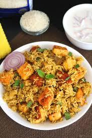 biryani indian cuisine easy paneer biryani recipe easy one pot spicy meal recipe