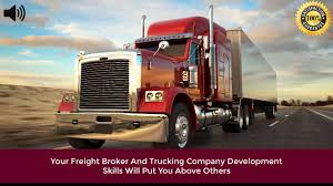 Learn How To Become A Freight Broker - YouTube