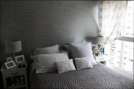 chambre tapisserie deco chambre deco deco chambre tapisserie grise