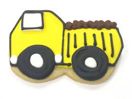 100 Dump Truck Cookies Transportation Cheris Bakery
