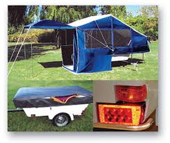 Camping Trailer For Cars Or Motorcycles