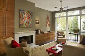 Girard Townhouse Philadelphia PA Modern Living Room