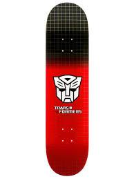 Cheap Skate Mental Decks by Primitive Red Rodriguez Autobots Grid 8 Inch Skateboard Deck