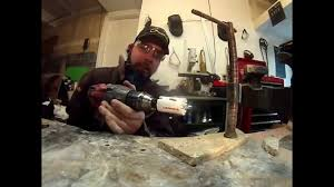 Tile Hole Saw Kit by Lenox Carbide Grit Hole Saw Cutting Floor Stone Tile Masnory Youtube