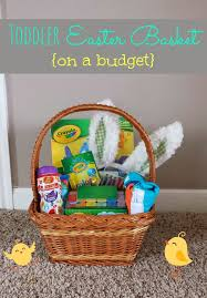 Toddler Easter Basket Ideas On A Budget