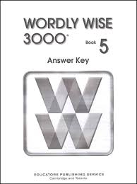 Wordly Wise 3000 Book 5 Answer Key 2nd Ed