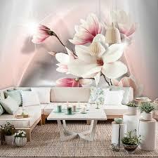 vlies fototapete blumen rosa lilia orchidee tapete
