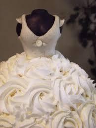 Bridal Dress Cake Detail  Dad Makes Cakes Brian Judd Cake