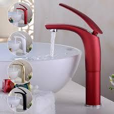 großhandel wasserhahn bad wasserhahn schwarz weiß rot gold waschbecken wasserhahn bad becken wasserhahn messing mixer moderne toilette hotcold