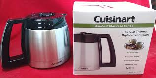 Cuisinart Coffee Maker 12 Cup Stainless Steel Carafe DCC 2400RC