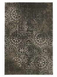 heine home kleiner teppich flur diele esszimmer uni antik optik grau ca 57x90 cm cloth