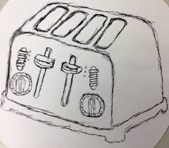 WIP Toaster Sketch By Rihnolo