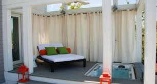 Sunbrella Curtains With Grommets by Outdoor Curtains Curtains Add Color And Style To Outdoor Spaces