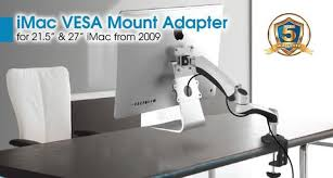 Vesa Desk Mount Imac by Allcam Vesa Mount Adapter For The New Apple Imac 21 5
