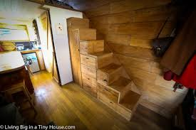 Tumbleweed Tiny House Stair Plans Storage Stairs With Clever Giant Journey