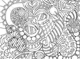 Difficult Christmas Coloring Pages For Adults