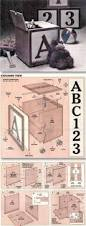 wooden toy box plans easy woodworking pinterest toy box