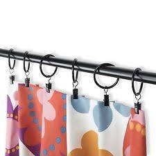 Restoration Hardware Curtain Rod Rings by Window Curtain Rings Ebay