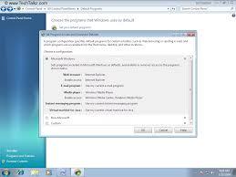 configuration pc bureau how to change default programs in windows 7 windows 7