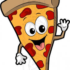 Pizza Cartoon Clipart Graphic Sqfjor