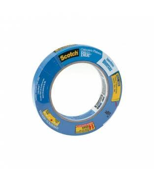 "Scotch Safe-Release Masking Painters Tape - 0.75"" X 60 Yards, Blue"