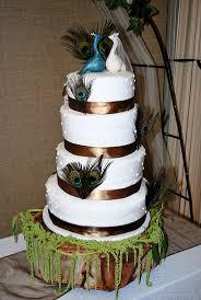 peacock wedding cake decorations Wedding Cake Decoration for