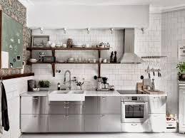 moderne küche aus edelstahl einrichtungs ideen küche