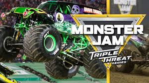 100 Monster Trucks Denver Jam Triple Threat Series Pepsi Center 9 February
