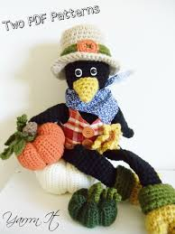 Pumpkin Patch Corona Ca by Combo Pack Joe The Crow And Pumpkin Patch Pdf Crochet Patterns