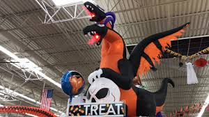 halloween 2017 walmart store inflatables and decorations