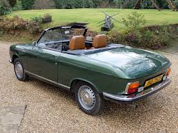 Peugeot 304 and 304S Cabriolet list of surviving UK classic cars